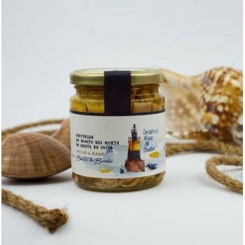 Ventresca de Bonito del Norte de Burela en aceite de oliva
